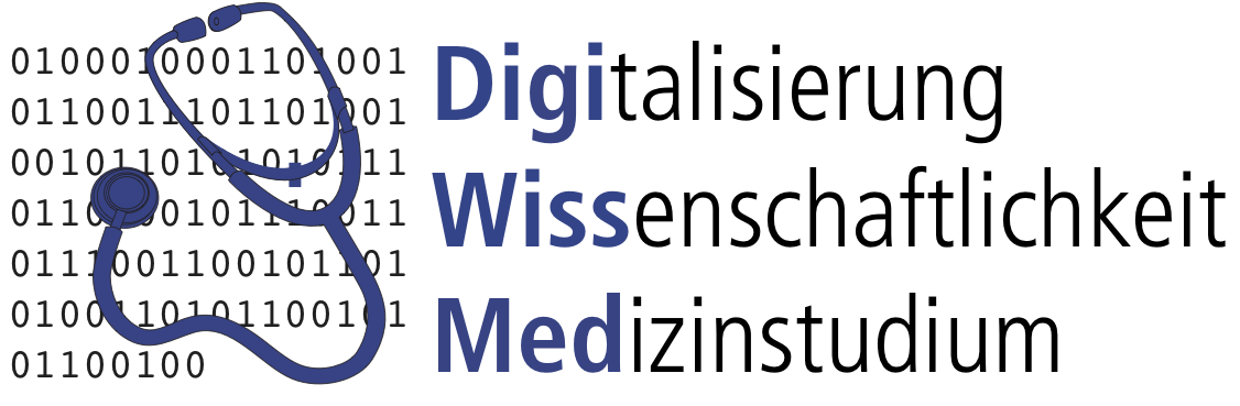 DigiWissMed: Digitization and Science in Medical Studies