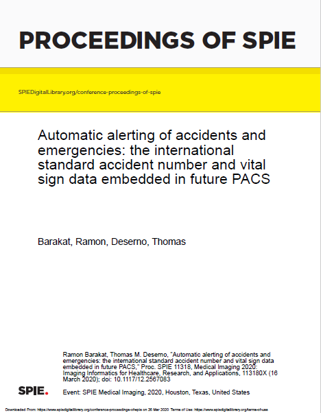 Automatic alerting of accidents and emergencies