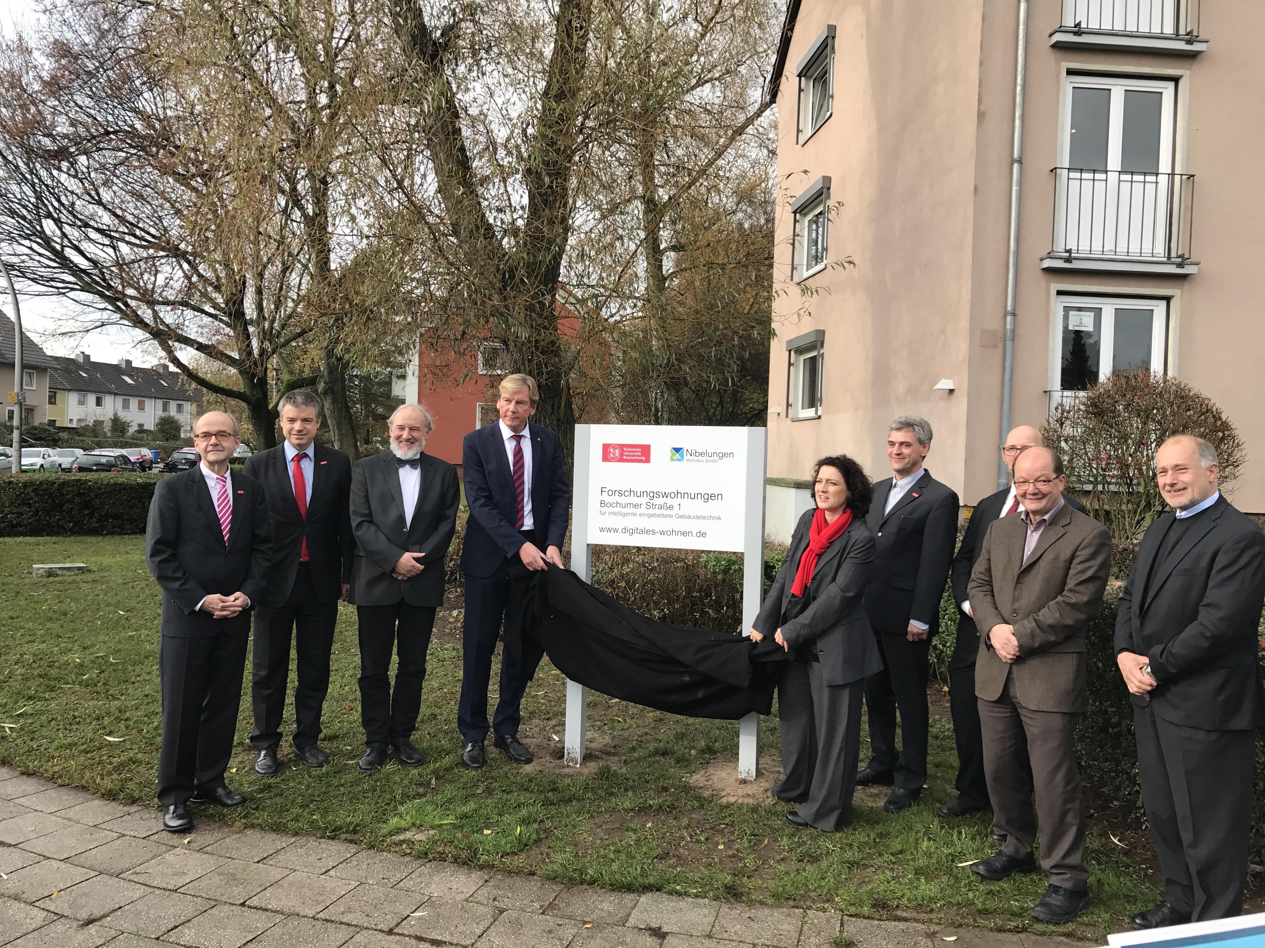BASIS Forschungswohnung eingeweiht