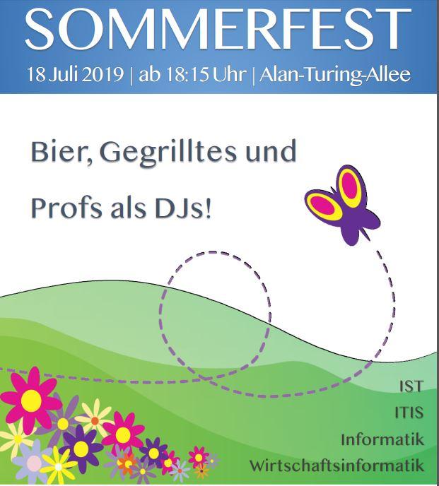 Sommerfest der Informatiker