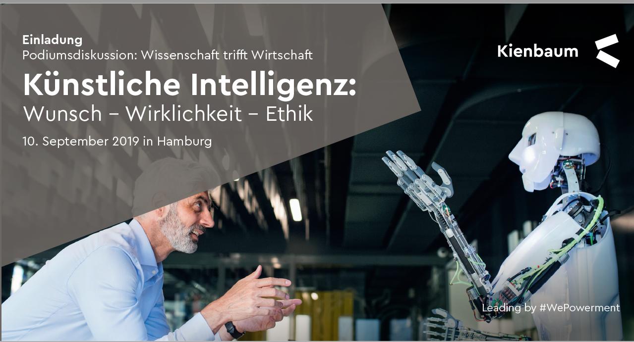 """Einladung zum Einblick in das Thema """"Künstliche Intelligenz"""""""